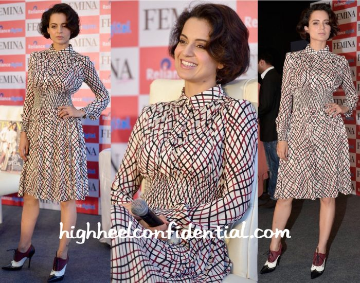 Kangana Ranaut Wears Gucci To Femina's Latest Issue Launch:Unveiling-2
