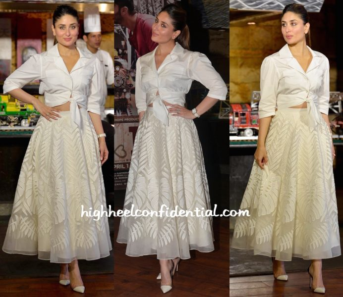 Kareena Kapoor Wears Temperley London To Ki And Ka Promotions-1