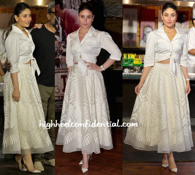 Kareena Kapoor Wears Temperley London To Ki And Ka Promotions-2