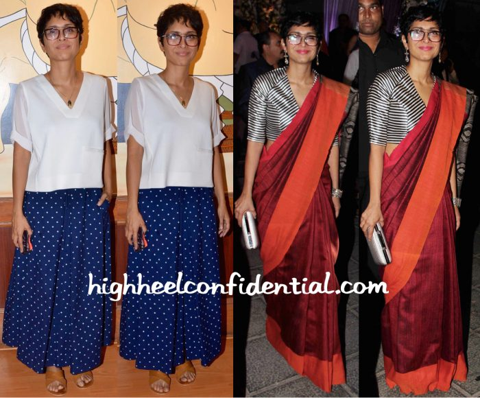 Kiran Rao At Tatami Launch (In Bodice) And At Kresha Bajaj-Vanraj Zaveri Wedding Reception