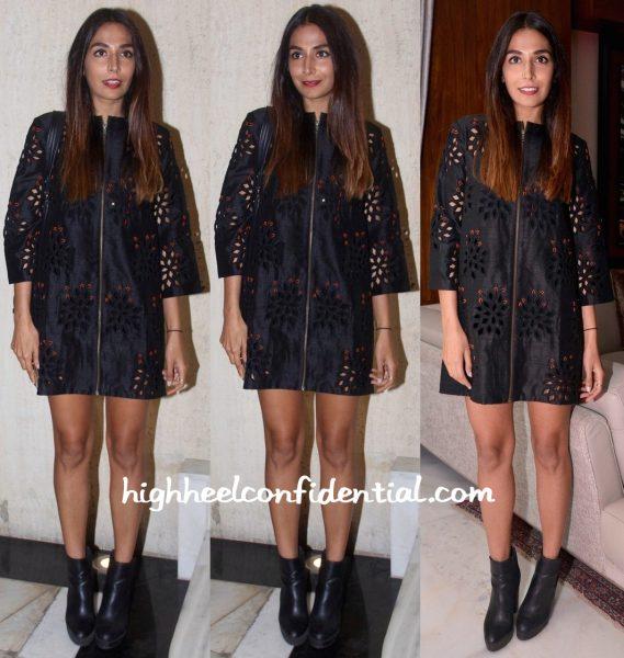 Monica Dogra In Urvashi Joneja At Manish Malhotra's Dinner Party-1