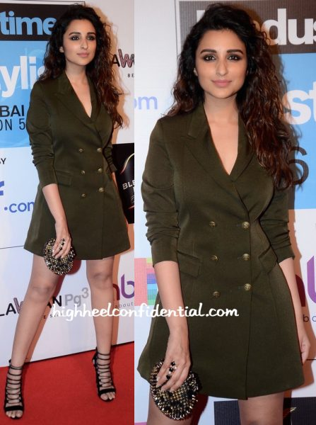 Parineeti Chopra In Intrinsic By Muskaan Goswami At HT Most Stylish Mumbai 2016-2