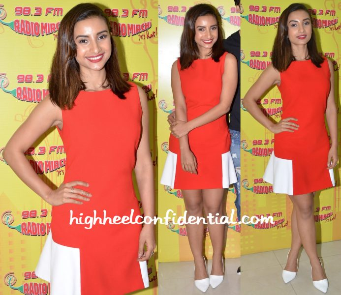 Patralekhaa Wears Madison To 'Love Games' Promotions