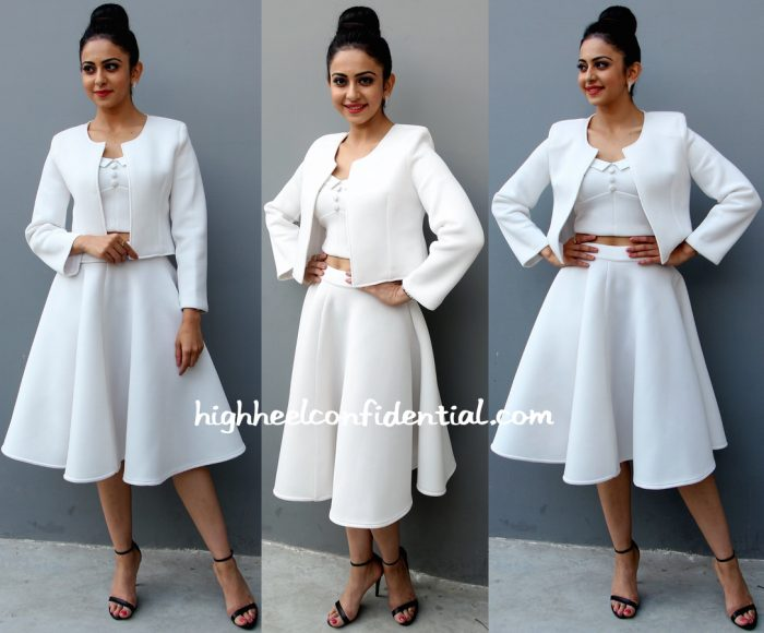 Rakul Preet Singh In Land Of August At A Press Meet For 'Sensation ' Event-2