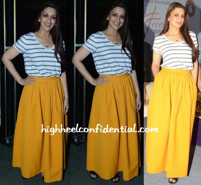 Sonali Bendre In Abercrombie Fitch And Dries Van Noten At Spring Fever 2016-1