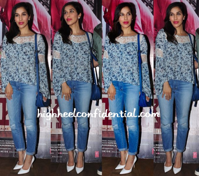 Sophie Choudry At Ki And Ka Screening