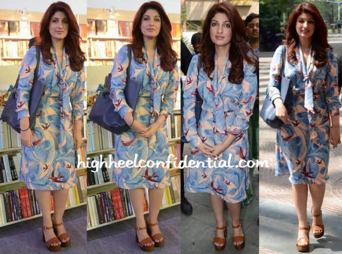 Twinkle Khanna In BCBG At Spring Fever 2016-1