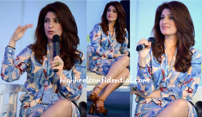 Twinkle Khanna In BCBG At Spring Fever 2016-2
