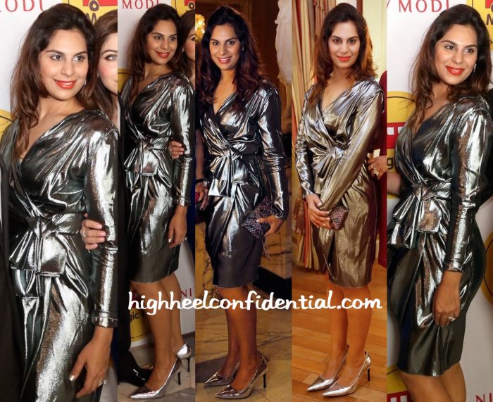 Upasana Kamineni Wears Lanvin To Magic Bus Charity Event In Hyderabad