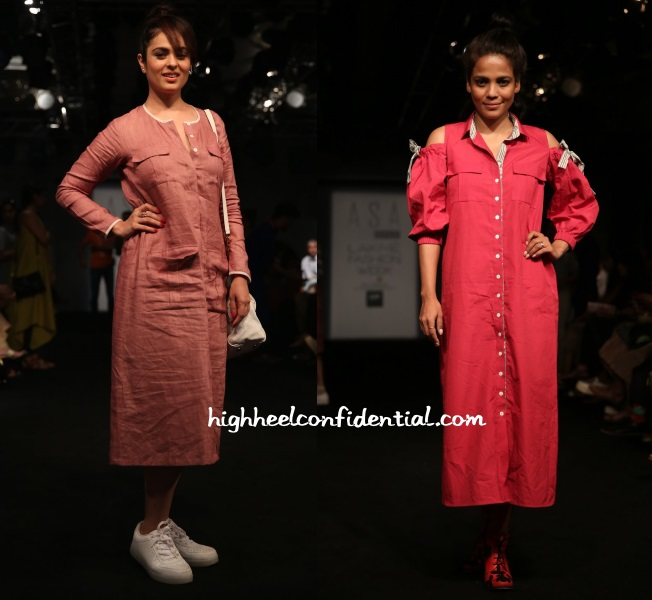 anjana-sukhani-priyanka-bose-meraki-project-lakme-fashion-week-2016