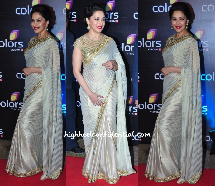 madhuri-dixit-colors-party-arpita-mehta