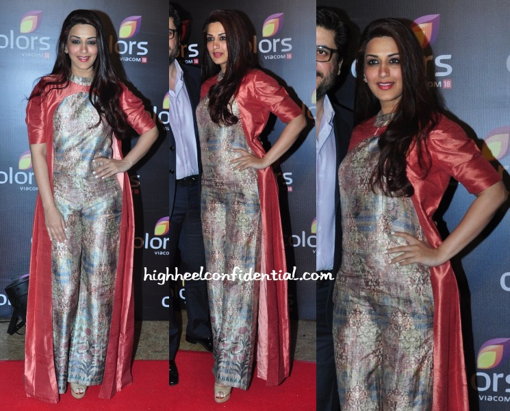 sonali-bendre-anita-dongre-colors-tv-annual-party