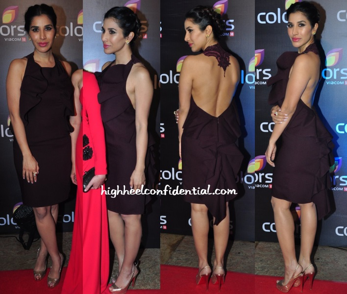 sophie-choudry-hema-colors-tv-annual-party-2016