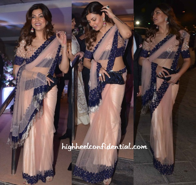 sushmita-sen-manish-malhotra-kresha-vanraj-wedding-reception