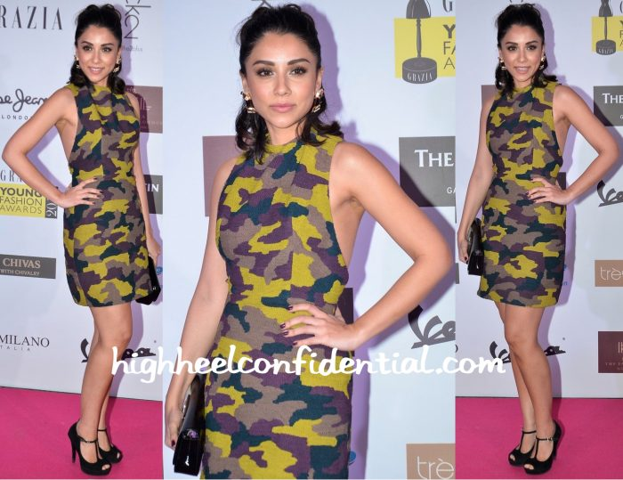 Amrita Puri In Poco & Jacky At Grazia Young Fashion Awards 2016-1