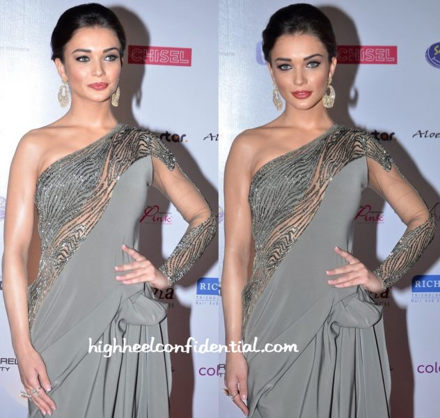 Amy Jackson In Gaurav Gupta At Miss India Pageant 2016-2
