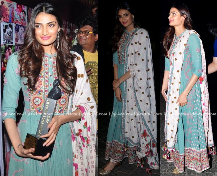 Athiya Shetty At Dadasaheb Phalke Awards 2016-1