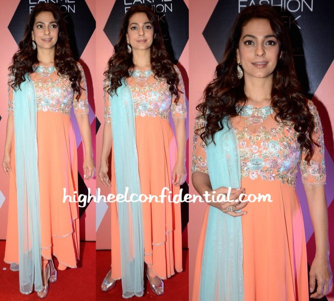 Lakme Fashion Week Summer Resort 2016-Juhi Chawla