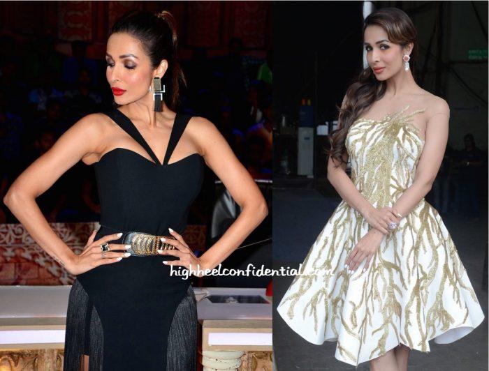 Malaika Arora Khan In Zeynep Erdogan And Tarek Sinno On 'India's Got Talent' Sets
