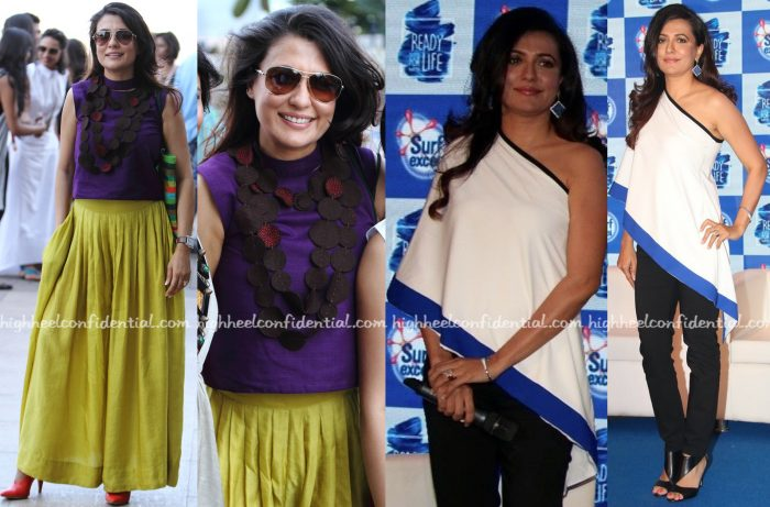 Mini Mathur At Payal Khandwala's Show At LFW And At A Surf Event