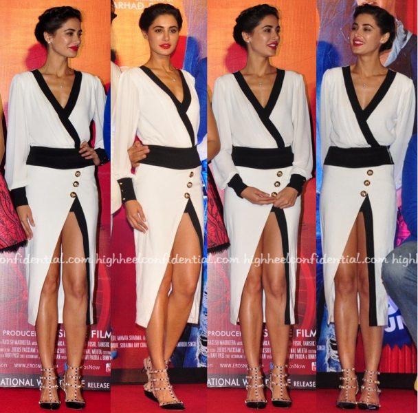 Nargis Fakhri In Karn Malhotra At Housefull 3 Trailer Launch-1