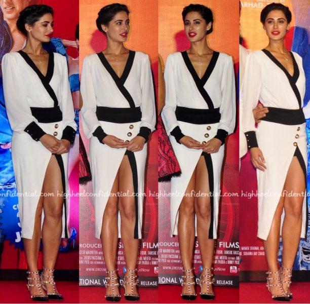 Nargis Fakhri In Karn Malhotra At Housefull 3 Trailer Launch-2