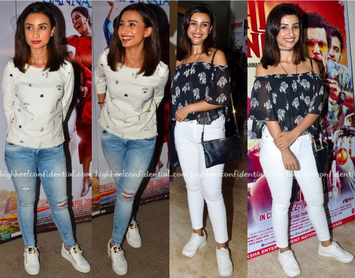 Patralekhaa At Neel Battey Sannata And Laal Rang Screenings