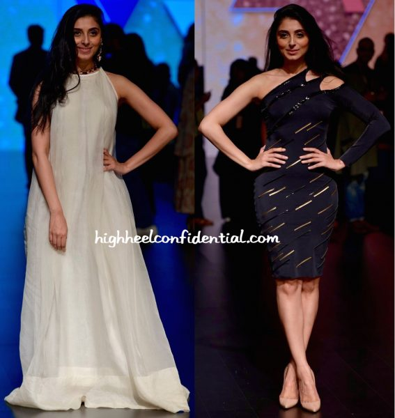 Pernia Qureshi In Masaba And Shivan Narresh At Lakme Fashion Week Summer Resort 2016-1