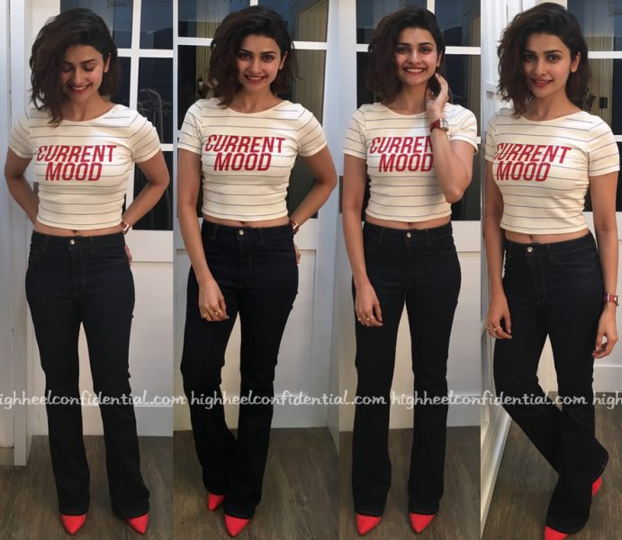 Prachi Desai In Zara At Azhar Promotions-2
