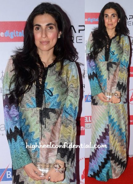 Prerna Goel In Missoni Hello! Hall Of Fame Awards 2016