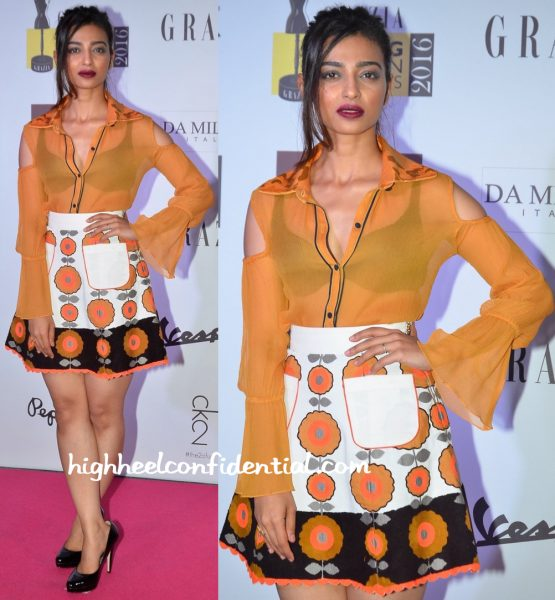 Radhika Apte At Grazia Young Fashion Awards 2016