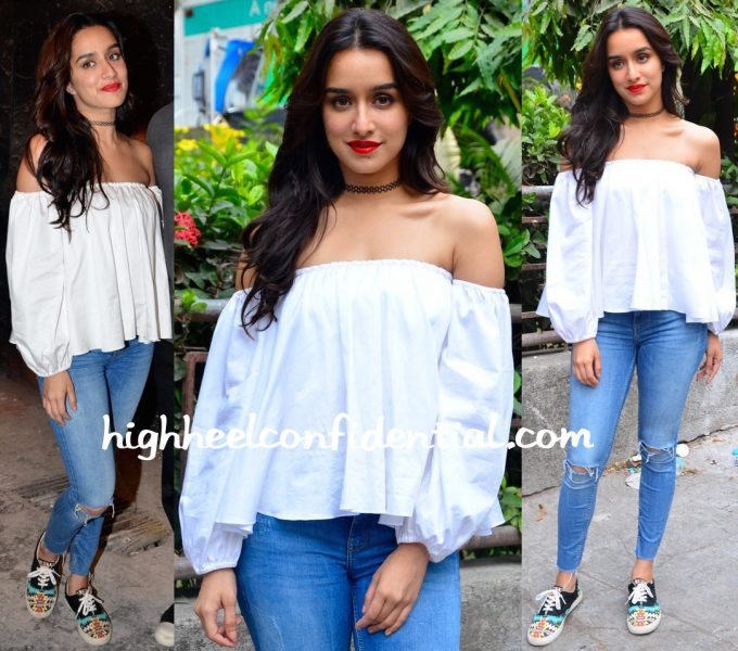 Shraddha Kapoor In Ankita By Ankita Choksey At 'Baaghi' Promotions-1