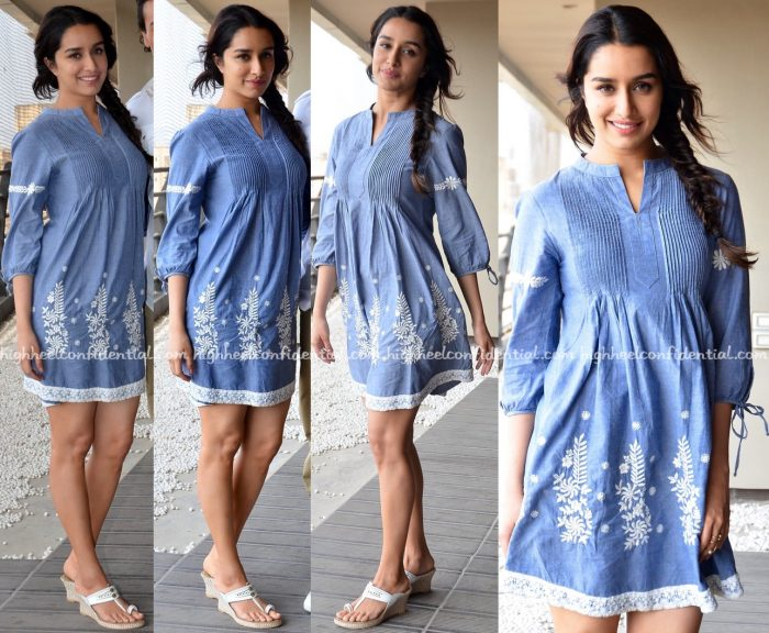 Shraddha Kapoor Wears Imara To Baaghi Promotions