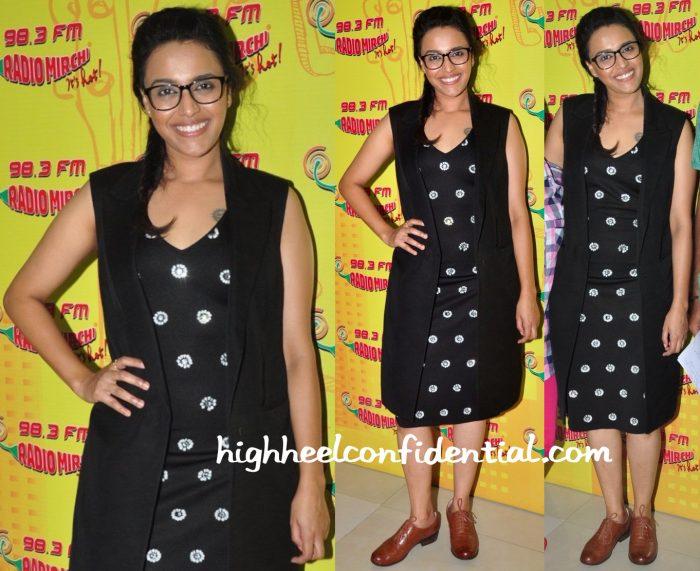 Swara Bhaskar In Chique At 'Neel Battey Sannata' Promotions-1