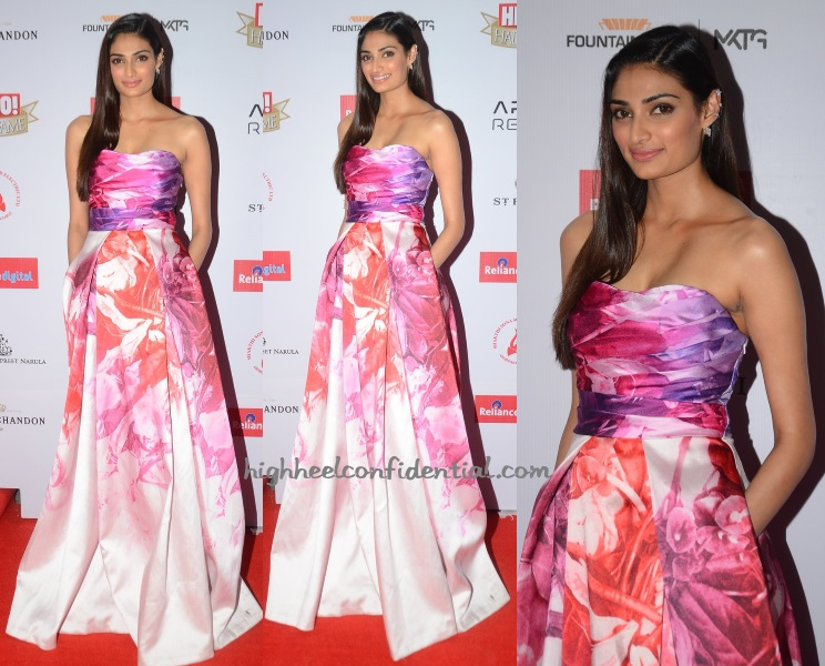 athiya-shetty-monique-lhuillier-hello-hall-fame-awards-2016
