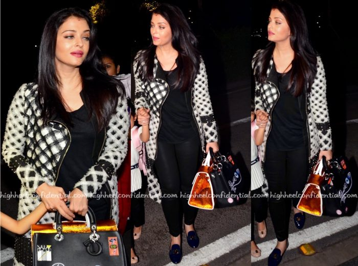 Aishwarya Rai Bachchan Jets Off To Cannes In Nachiket Barve-1