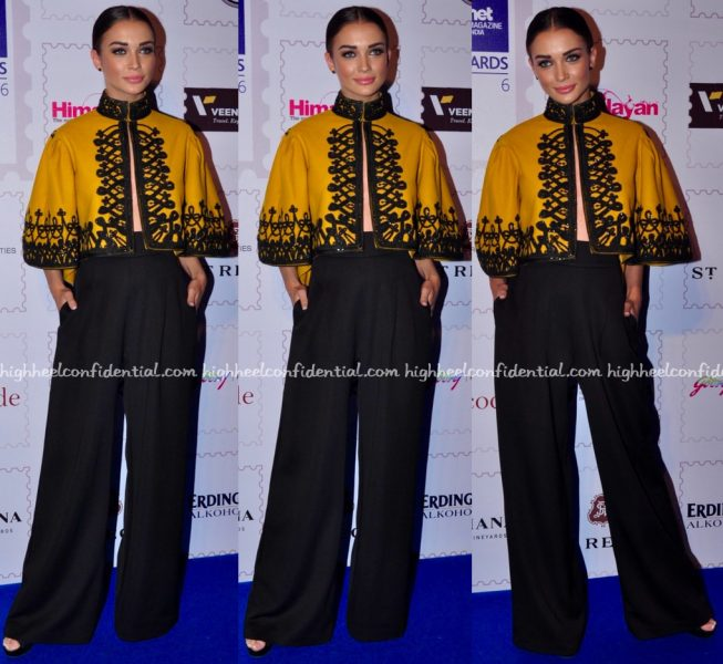 Amy Jackson In Pankaj And Nidhi At Lonely Planet Awards 2016