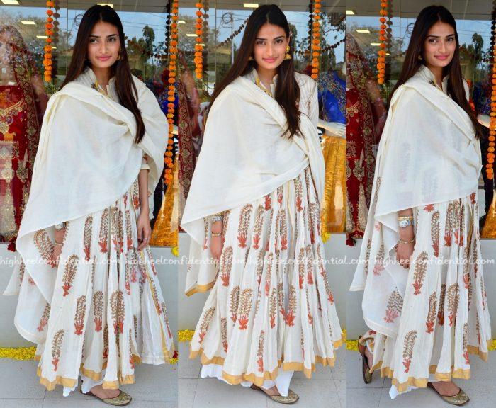 Athiya Shetty At Sarabjit Premiere And At An Exhibition In Mumbai
