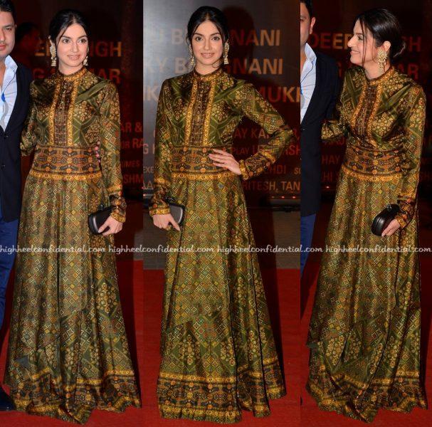 Divya Khosla Kumar In Ashima Leena At Sarabjit Premiere