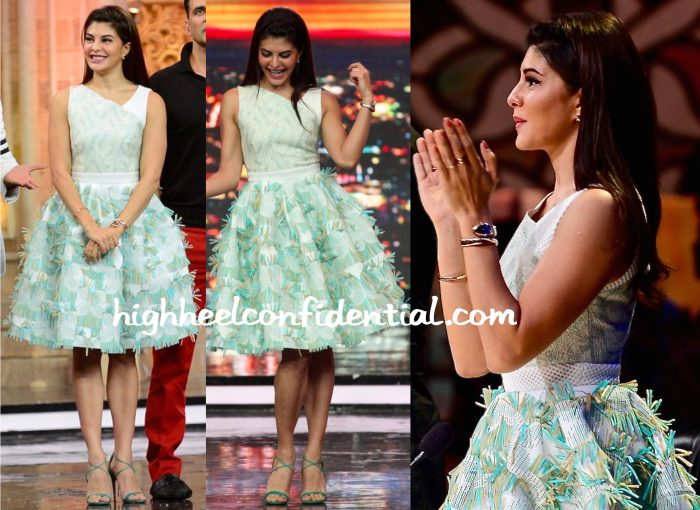 Jacqueline Fernandez In Ada & Vic On India's Got Talent Sets For Housefull 3 Promotions-1