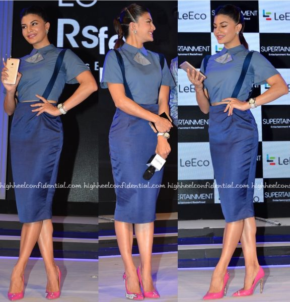 Jacqueline Fernandez Wears The Circus To LeEco Mobile Launch-2