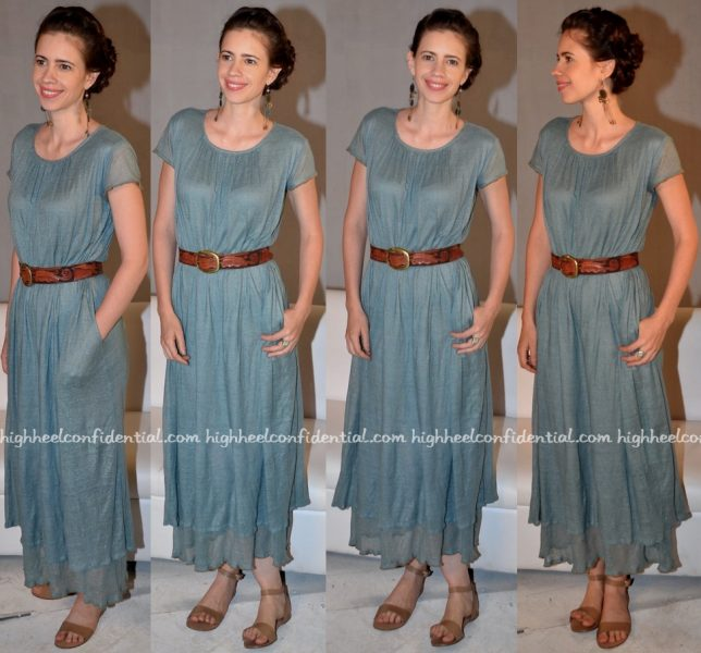 Kalki Koechlin Wears Anavila To Waiting Promotions