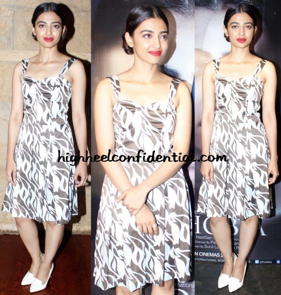 Radhika Apte In Abdul Halder At Phobia Promotions And In Topshop At Phobia Screening-1