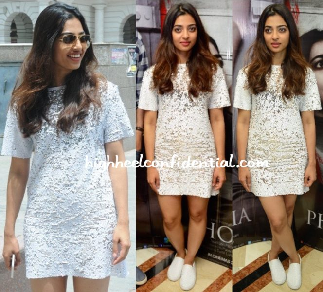 Radhika Apte In Zara At Phobia Promotions
