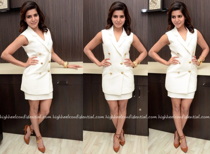 Samantha Ruth Prabhu In Koëcsh At '24' Promotions
