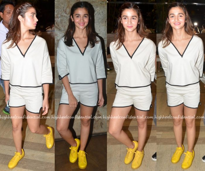 Alia Bhatt In Gabriela Alexandrova At Udta Punjab Screening