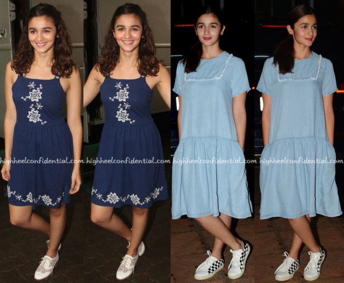 Alia Bhatt Wears Topshop And Urban Outfitters To 'Udta Punjab' Promotions