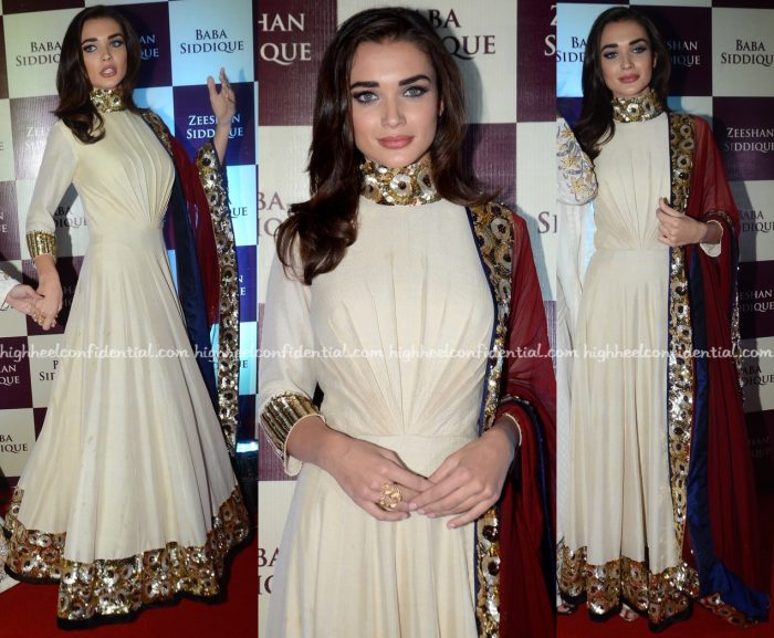 Amy Jackson In Manish Malhotra At Baba Siddique's Iftar Party-1
