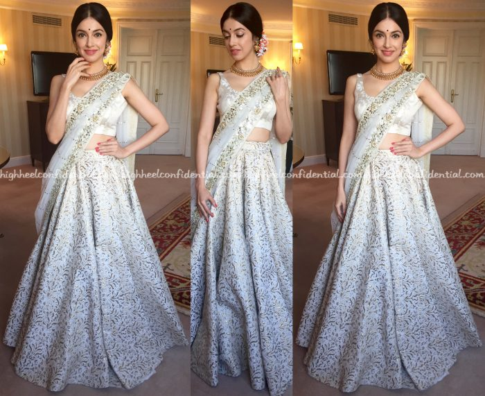 Divya Khosla Kumar In Vikram Phadnis At IIFA Awards 2016, Madrid-1