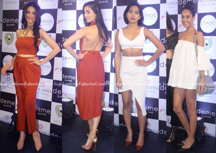 Divya Khosla Kumar, Pernia Qureshi, Sayani Gupta And Lisa Haydon In Deme By Gabriella At Designer's Presentation-2